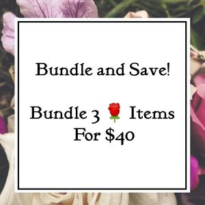 🌹 3/$40 Bundle Sale! 🌹